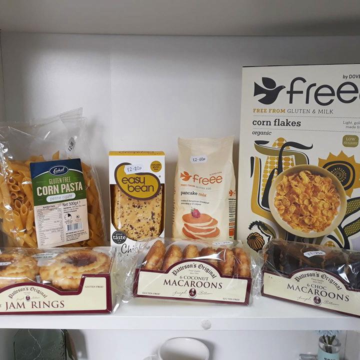 Extended Gluten Free range