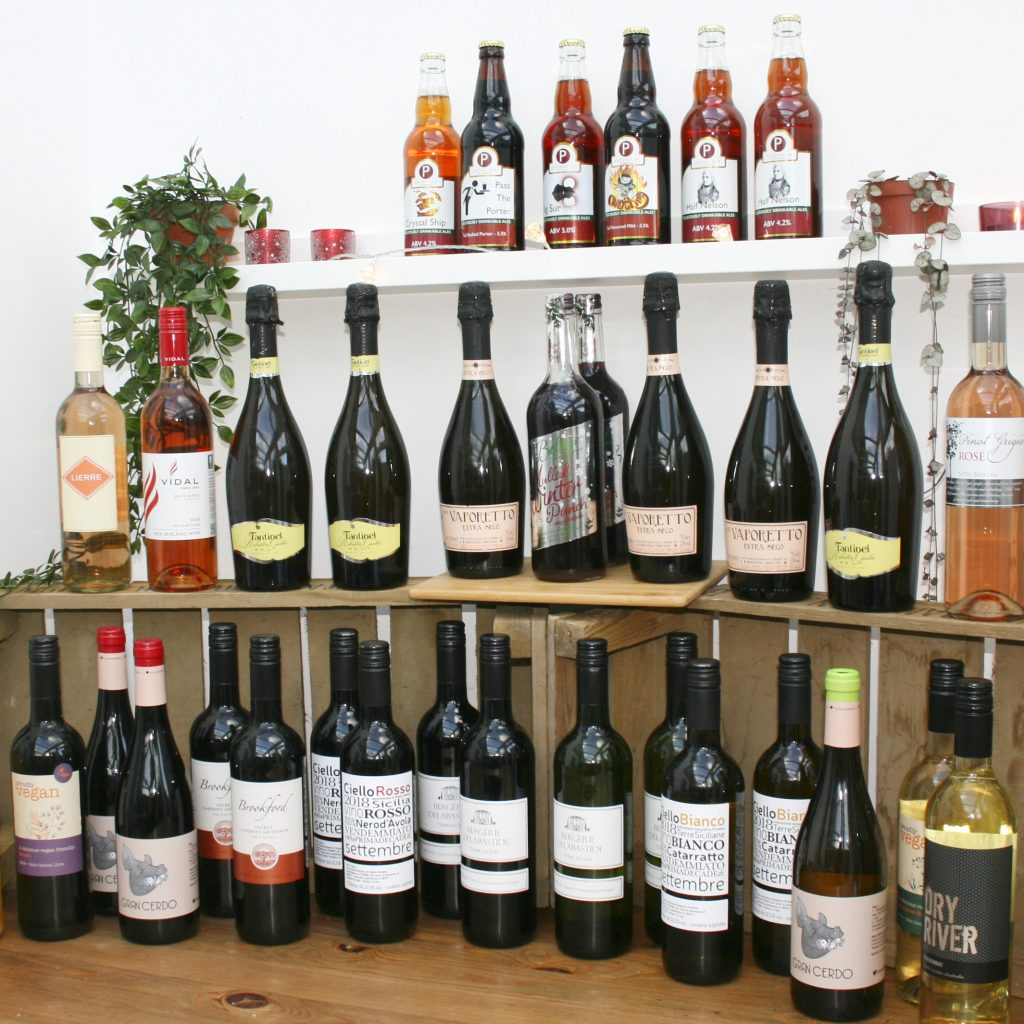Some of the alcohol now on sale at your village shop!