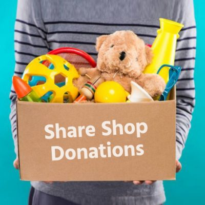 The 'share shop' raising funds for the NHS